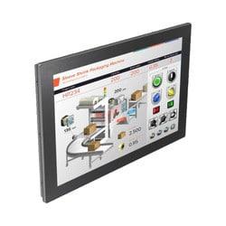 مانیتور تمام لمسی شرکت وینتک که دارای قابلیت تاچ در چند نقطه بطور همزمان و دارای ورودی HDMI است